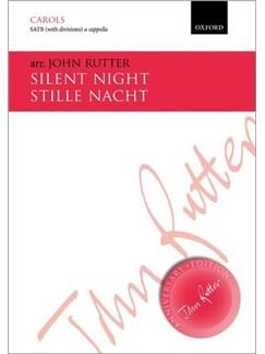 John Rutter: Silent Night (Vocal Score) Books   SATB