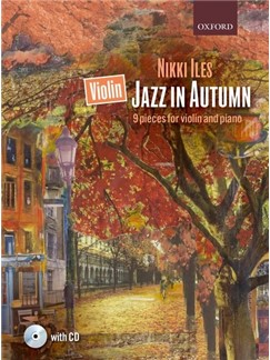 Nikki Iles: Violin Jazz In Autumn (Book/CD) Books and CDs | Violin