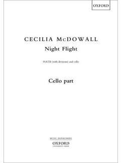 Cecilia McDowall: Night Flight Books | Cello