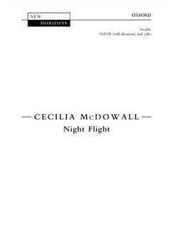 Cecilia McDowall: Night Flight Books | SATB, Cello