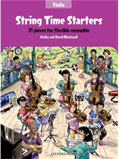 Kathy Blackwell/David Blackwell: String Time Starters - Violin Livre | Violon