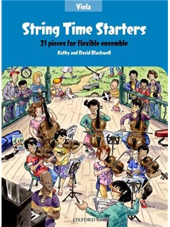 Kathy Blackwell/David Blackwell: String Time Starters - Viola Books | Viola