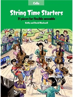 Kathy Blackwell/David Blackwell: String Time Starters - Cello Books | Cello