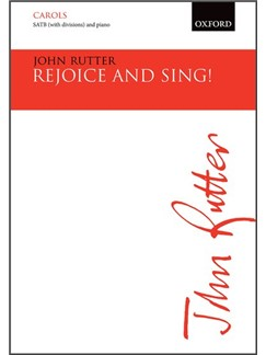 John Rutter: Rejoice And Sing! Books | Choral, SATB