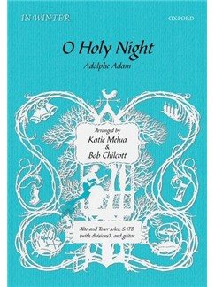 Arr. Katie Melua/Bob Chilcott: O Holy Night Bog | Alt, Tenor, SATB, Guitar, Kor