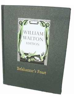 William Walton: Belshazzar's Feast (Full Score) Books | SSAATTBB, Orchestra
