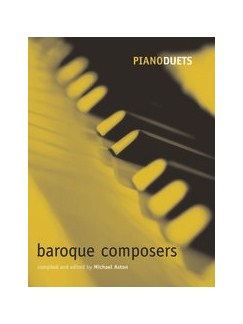 Piano Duets: Baroque Composers Books   Piano Duet