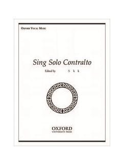 Sing Solo Contralto Books | Alto, Piano Accompaniment