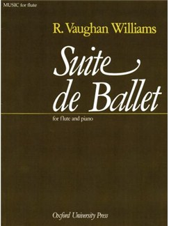 Ralph Vaughan Williams: Suite De Ballet (Flute/Piano) Books | Flute, Piano Accompaniment