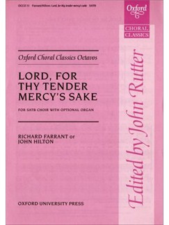 Lord, For Thy Tender Mercy's Sake Books | SATB