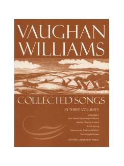 Ralph Vaughan Williams: Collected Songs - Volume 2 Books | Medium Voice, Piano Accompaniment