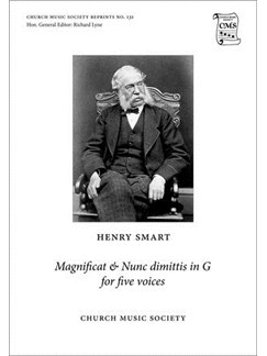 Henry Smart: Magnificat And Nunc Dimittis In G (Ed. Peter Horton And Richard Lyne) Books | SATB, Organ Accompaniment