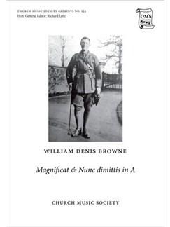 William Denis Browne: Magnificat And Nunc Dimittis In A Books | Organ Accompaniment, SATB