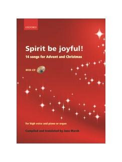 Spirit Be Joyful! Books and CDs | High Voice, Piano Accompaniment