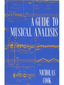 Nicholas Cook: A Guide To Musical Analysis Books |