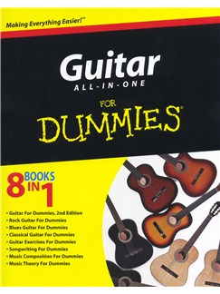 Guitar All-In-One For Dummies Books and CDs | Guitar