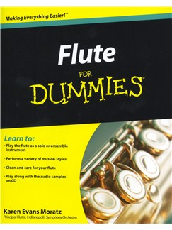 Flute For Dummies Books and CDs | Flute