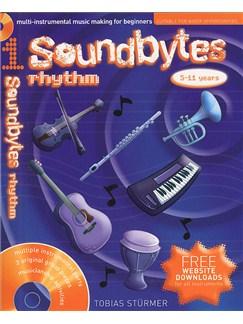 Soundbytes: Book 1 - Rhythm Books and CDs | Voice, Percussion, Piano Accompaniment