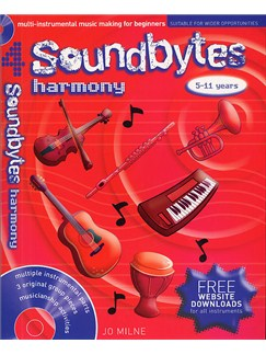 Soundbytes: Book 4 - Harmony Books and CDs | Voice, Treble Clef Instruments, Piano Accompaniment