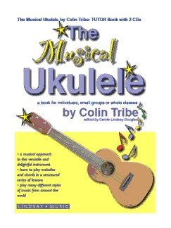 Colin Tribe: The Musical Ukulele Books and CDs | Ukulele