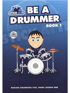 Tim Senior: Stick At It - Be A Drummer Books and CDs | Drums