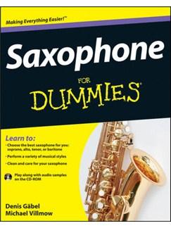 Saxophone For Dummies Books | Saxophone