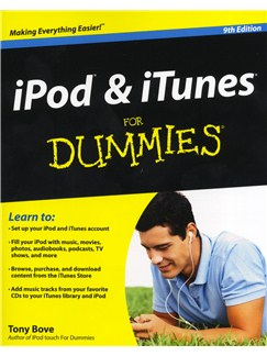 Tony Bove: iPod And iTunes For Dummies (9th Edition) Books |