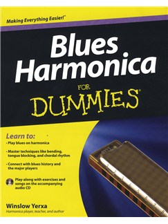 Blues Harmonica For Dummies Books and CDs | Harmonica