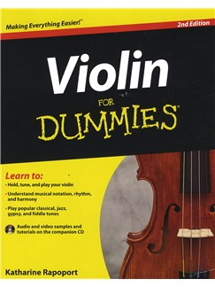 Violin For Dummies - 2nd Edition Books and CDs | Violin