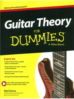 Desi Serna: Guitar Theory For Dummies (Book/Online Audio) Books | Guitar