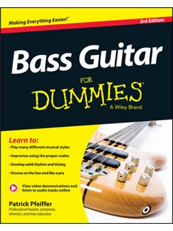 Patrick Pfeiffer: Bass Guitar For Dummies - 3rd Edition Books and Digital Audio | Bass Guitar