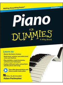 Piano For Dummies - 3rd Edition (Book/Online Audio) Books and Digital Audio | Piano