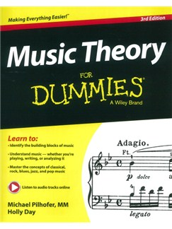 Michael Pilhofer/Holly Day: Music Theory For Dummies - 3rd Edition Books |