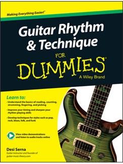 Desi Serna: Guitar Rhythm & Technique For Dummies (Book/Online Audio) Books | Guitar