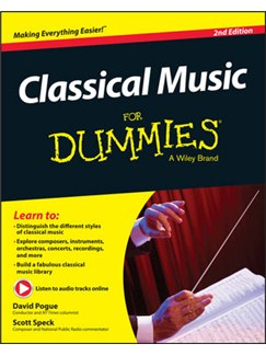 Classical Music For Dummies (2nd Edition) (Book/Online Audio) Books and Digital Audio |