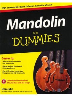 Don Julin: Mandolin For Dummies Books | Mandolin
