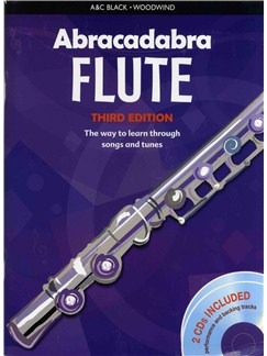 Abracadabra Flute - Third Edition (Book And 2 CDs) Books and CDs | Flute