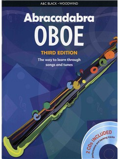 Abracadabra Oboe - Third Edition (Book And 2 CDs) Books and CDs | Oboe
