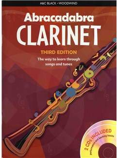 Abracadabra Clarinet - Third Edition (Book And 2 CDs) Books and CDs | Clarinet