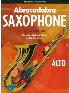 Abracadabra Saxophone - Third Edition (Book Only) Books | Alto Saxophone
