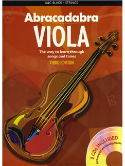 Peter Davey: Abracadabra Viola - 3rd Edition (Pupil's Book/2 CDs) Books and CDs | Viola