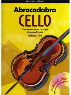 Maja Passchier: Abracadabra Cello - 3rd Edition (Pupil's Book/2 CDs) Books and CDs | Cello