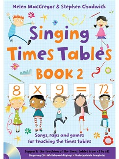 Singing Times Tables: Book 2 Books and CDs |