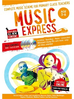 Music Express: Age 5-6 - Year 1 (Book/3CDs/DVD-ROM) Books, CD-Roms / DVD-Roms and CDs |