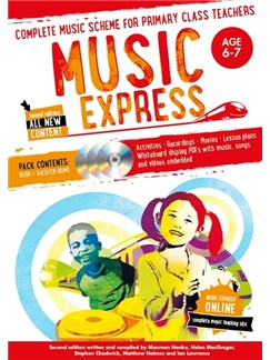 Music Express: Age 6-7 - Year 2 (Book/3CDs/DVD-ROM) Books, CD-Roms / DVD-Roms and CDs |