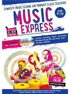 Music Express: Age 9-10 - Year 5 (Book/3CDs/DVD-ROM) Books, CD-Roms / DVD-Roms and CDs |