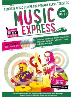 Music Express: Age 10-11 - Year 6 (Book/3CDs/DVD-ROM) Books, CD-Roms / DVD-Roms and CDs |