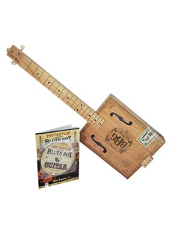 Blues Box Guitar Building Kit Books, CDs and Instruments | Guitar