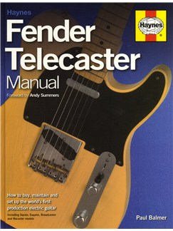 Paul Balmer: Haynes Fender Telecaster Manual Books | Electric Guitar
