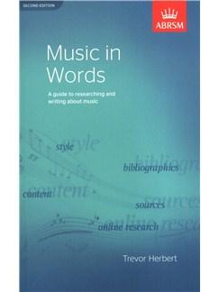 Trevor Herbert: Music In Words (Second Edition) Books |